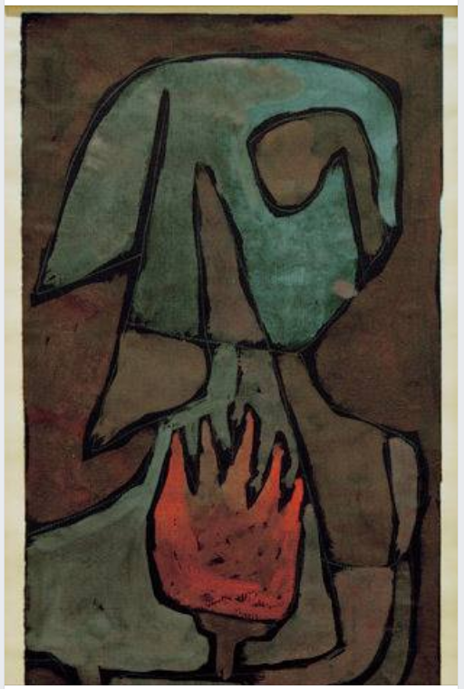 klee she guards the flame 1939